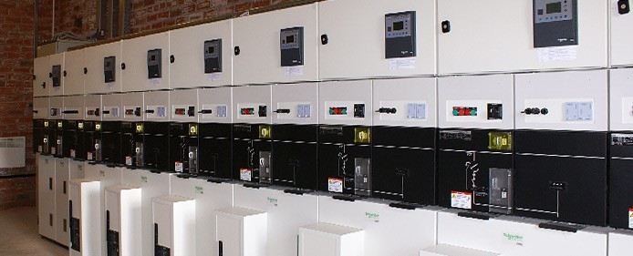Built-in and unit-type substations 6-20kV